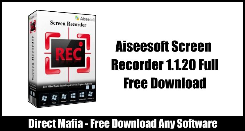 Aiseesoft Screen Recorder Crack free