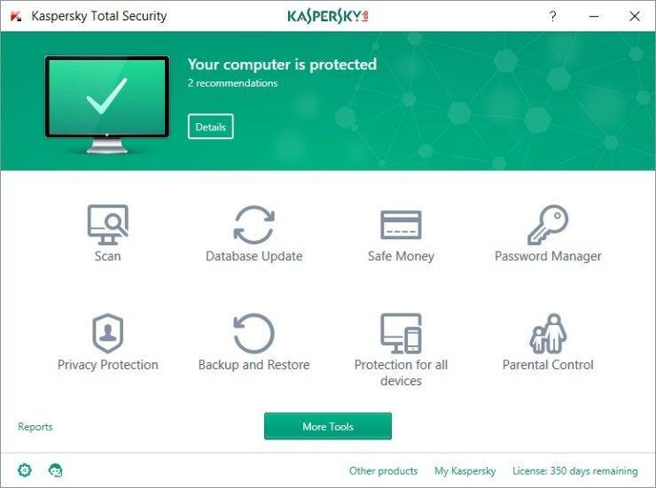 Kaspersky Internet Security Crack free