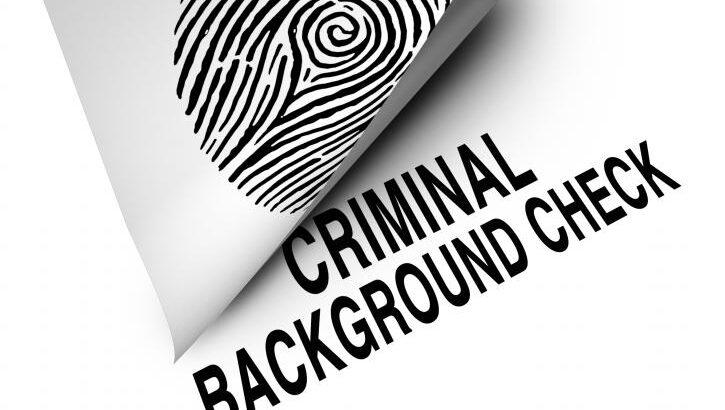 Criminal History Checks